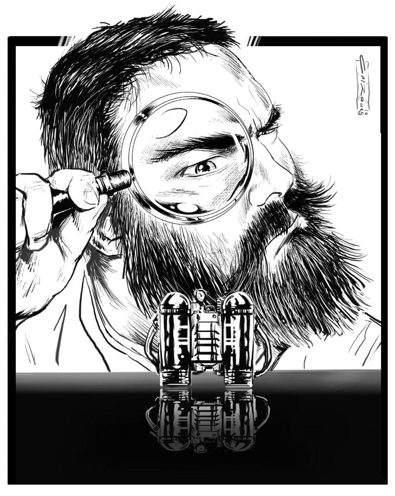 Arte Post-Lanzamiento Invitado 13 por  Cristhian 'Crizam' Zamora