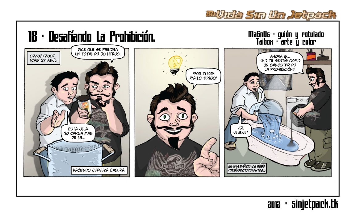 18 - Desafíando La Prohición.