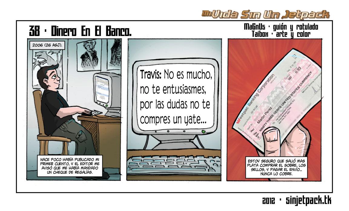 38 - Dinero En El Banco.