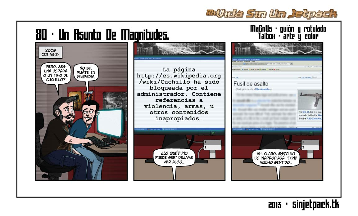 80 - Un Asunto De Magnitudes.
